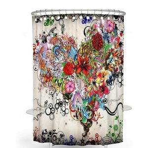 🆕️ Bohemian Shower Curtain 60x72 Inches